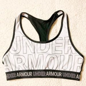 NWOT! Under Armour Black and White Sports Bra